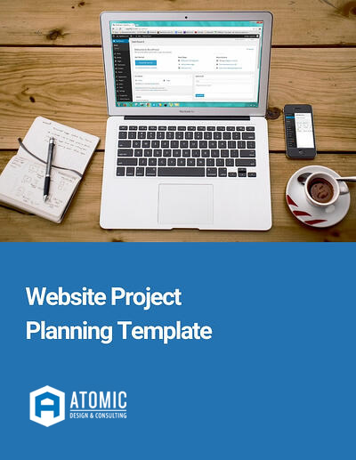 Website project planning template
